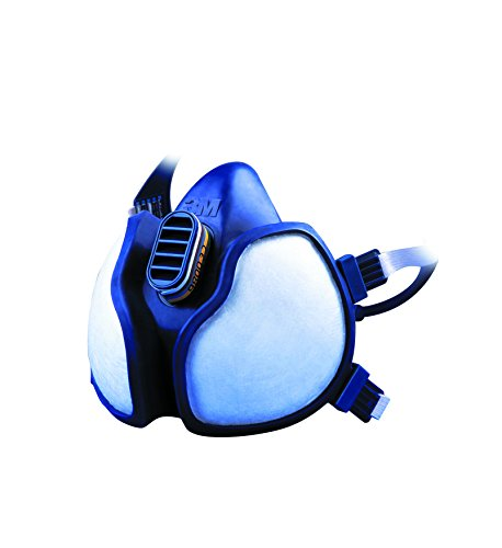 3M 4279C Respiratore per Gas, Vapori e Polveri, Bianco
