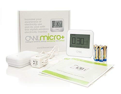 Owl Micro W/Less Electricity Monitor Misuratore di Risparmio di Energia Elettrica Wireless