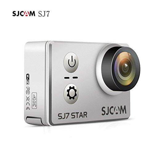 Galleria fotografica SJCAM SJ7Star SJ7000SJ7STAR–4K Native Action Cam Sports camera 5,1cm touch screen, 16MP, Touch Screen, Sony Sensor, WiFi, HDMI, impermeabile sport Action Cam mini DVR–argento