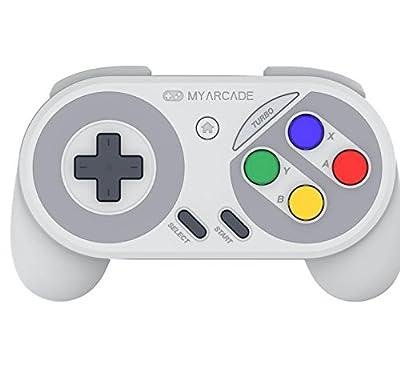 My Arcade Wireless Super Gamepad (SNES/NES Classic Mini/Wii U/Wii/Electronic Games) from My Arcade