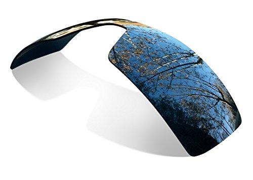 sunglasses restorer Kompatibel Ersatzgläser für Oakley Oil Rig (Polarisierte Engraving Black Iridium Linsen)