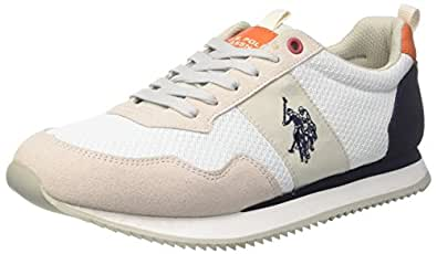 U.S. Polo Assn. TALBOT1, Sneaker Uomo, Bianco (Ice), 41 EU U.S.Polo Association