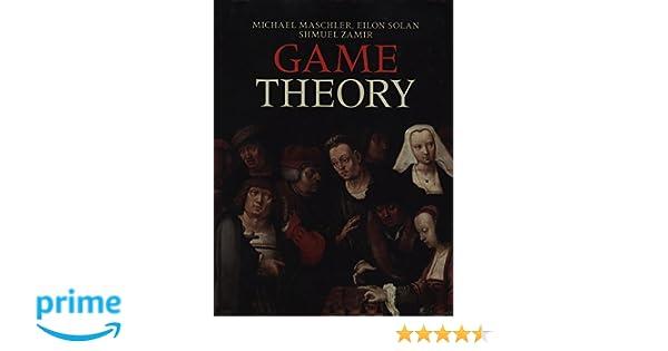 game theory maschler solan zamir