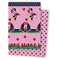 Mercatohouse - Colcha Bouti Reversible Minnie - Producto Oficial Disney