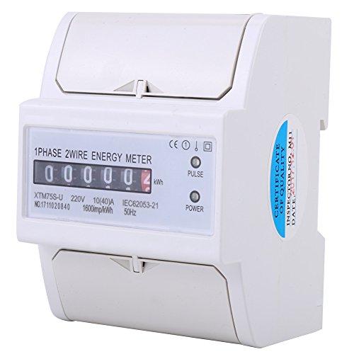 220 V 10-40A kWh Meter Digital LCD Einphasig 4P DIN-Schiene Stromzähler XTM75S-U
