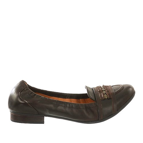Geox - D Trixie B, Scarpe chiuse Donna Marrone