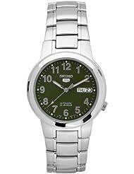 Seiko Herren-Armbanduhr 5 Gent Analog Automatik Edelstahl SNKA17K1