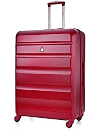 Aerolite ABS hardshell Equipaje Maleta Trolley de Viaje (29, vino)