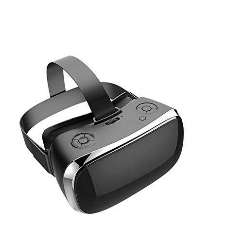 NBKLS Bluetooth drahtlose WiFi VR Brille Multi-Funktions-Virtual-Reality-Headset Headset 3D Spiel Brille Helmetsupport HDMI USB-TF-Karte und Myopie Benutzer