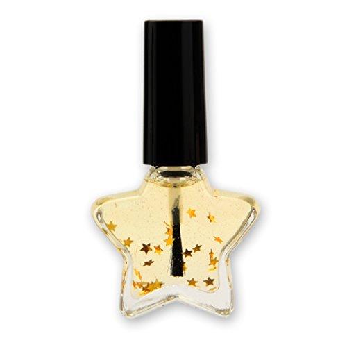 10 X XMAS Nagelöl im Sternfläschchen für Weihnachten, 10ml - 10er Set