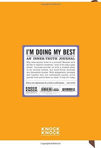 Inner Truth Journal:: I'm Doing My Best