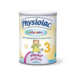 Physiolac - Lait de croissance fibréa + aux gos et fos