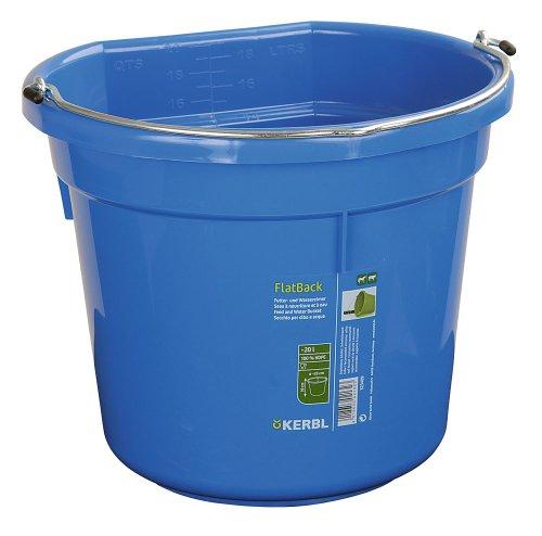 Kerbl Futter- und Wassereimer FlatBack ca. 20 l -