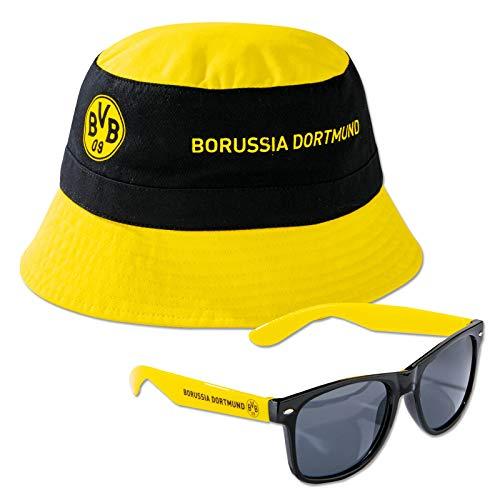 Borussia Dortmund BVB Fischerhut/Sonnenbrille ** Sommerset **