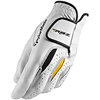TaylorMade RBZ Leather Glove Guante, Hombre, Blanco, M-L