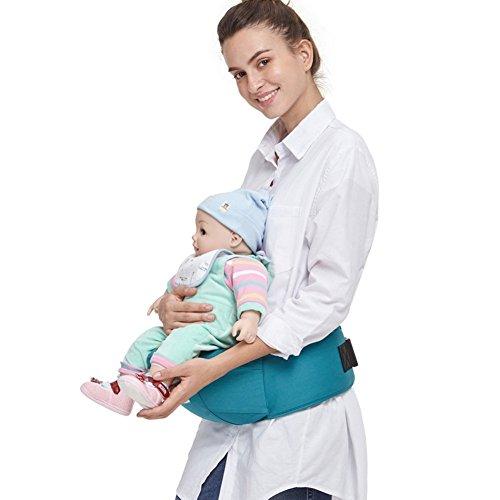 Angelcare Baby und Kindertrage, super vielseitig, Bauch-, Hüft- und Rückentrage (grün)