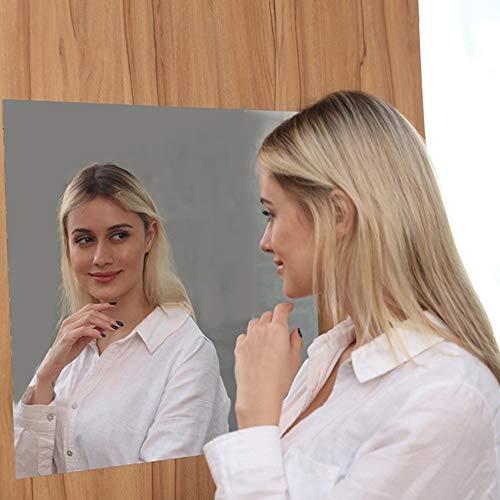 Spiegel-Wand-Aufkleber, dekorative Acrylspiegel-Wand-Blatt-Plastikspiegel-Hauptfliesen der Spiegel-Kunst-DIY für das Hauptleben 0627 (Size : 60cm*200cm) - Spiegel, Blätter Flexible