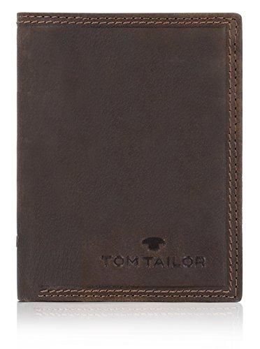 Tom Tailor Terry Hochformat Geldbörse Leder 10 cm mit Klappfach