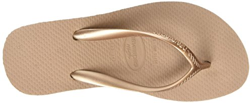 Havaianas Flip Flops High Fashion Zehentrener für Frauen Beige (rose Gold 3581)