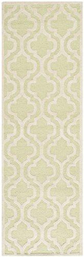 Safavieh Lola Strukturierte Bereich Teppich, hellgrün/elfenbeinfarben, 76x 243cm