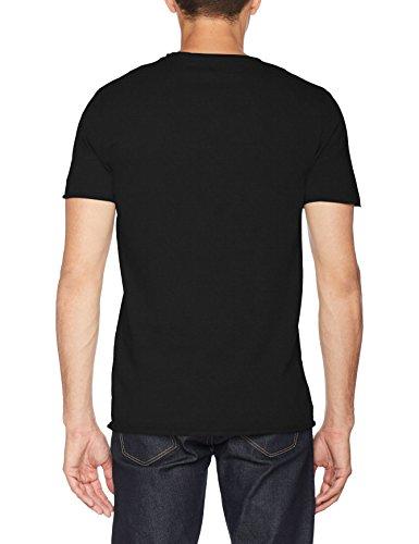SELECTED HOMME Herren T-Shirt Shnnewmerce Ss O-Neck Tee Noos Schwarz (Black)