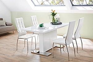 HTI-Living Stuhl Freiburg weiß