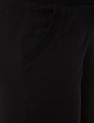 Berydale Pantaloni Casual di Lino Nero (Schwarz)