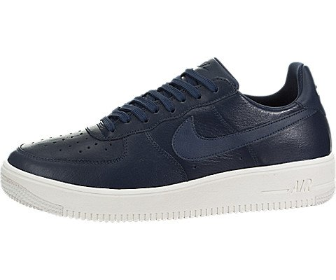 Preisvergleich Produktbild Nike Men's Air Force 1 Ultraforce Leather Midnight/Navy/Midnight/Navy Basketball Shoe 10.5 Men US