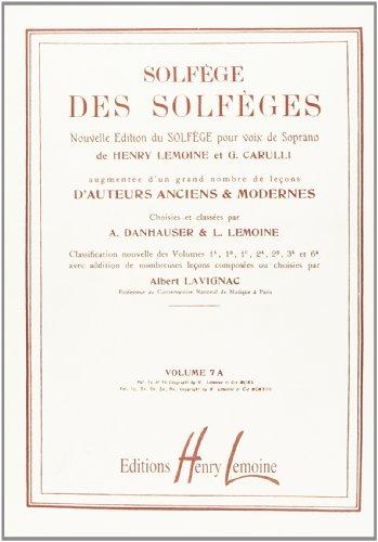 Solfège des Solfèges Volume 7A avec ac...
