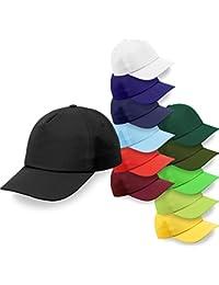 Baseball-Cap mit Klettverschluss in vielen verschiedenen Farben [OneSize]