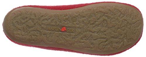 Classic Haflinger Rot Haflinger Pantoffeln 285 Damen Ziegelrot Classic qfzBfF