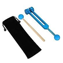 Stemvork, 136,1 HZ Aluminium Stemvork Hout Hammer Ball Sound Tool Set