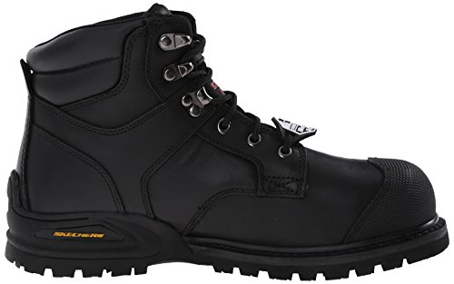 Skechers Men's Kener ST Work Hi Top Work Boot Shoes Black