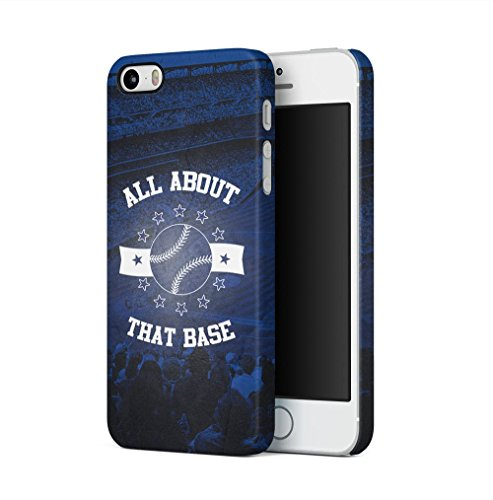 Baseball All About That Base Apple iPhone 5 / iPhone 5S / iPhone SE SnapOn Hard Plastic Phone Protective Fall Handyhülle Case Cover Iphone 5 Fall-hockey