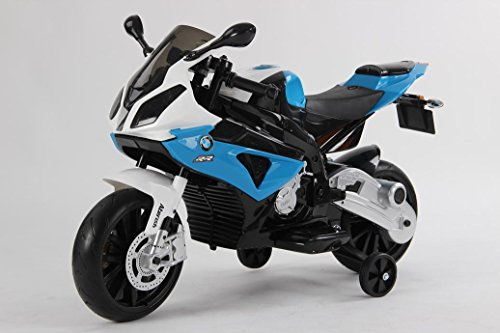 MOTO INFANTIL BMW 12V S/H SPEED S1000RR BLACK (AZUL)