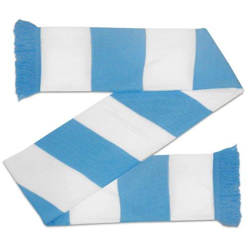 Manchester City – Bufanda tradicional – Franjas con los colores oficiales del club