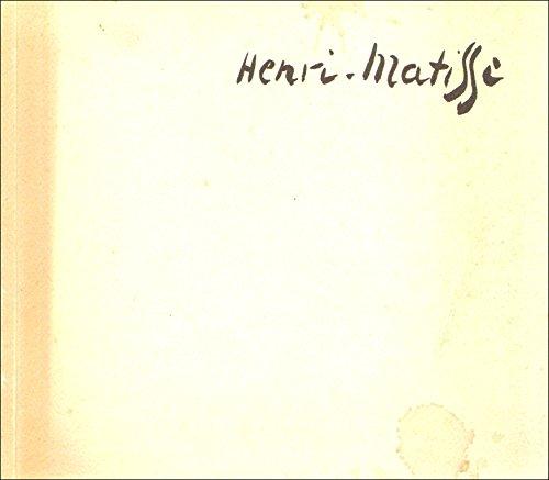 Henri Matisse 1869-1954: Drawings