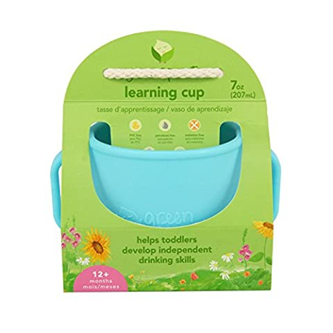 green sprouts Learning Cup (Aqua)