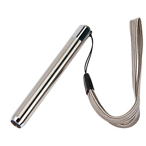 BEETEST Portátil 3 en 1 LED antorcha linterna Pen Fluorescer Detector falso moneda Detector luz Pen con correa de mano