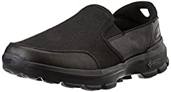 Skechers Mens Go Walk 3 Black Nordic Walking Shoes - 10 UK/India (45 EU) (11 US)