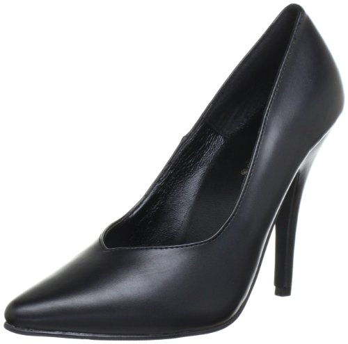 Pleaser SEDUCE-420V Damen Pumps, Schwarz (Blk pu), EU 45 (UK 12) (US 15)