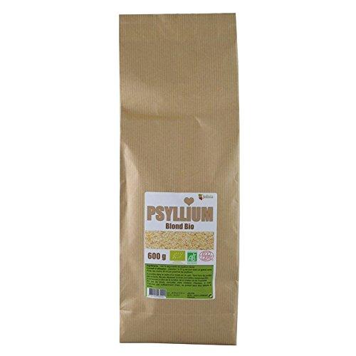 Psyllium Blond Bio AB 600 g - 100% Tegument