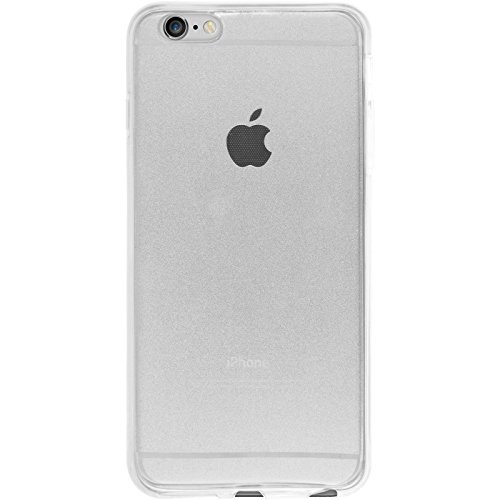PhoneNatic Case für Apple iPhone 6s / 6 Hülle Silikon gold 360° Fullbody Cover iPhone 6s / 6 Tasche Case Clear