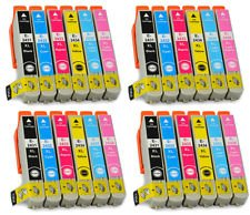 24 Pack 4 Full Sets of High Capacity Compatible Non