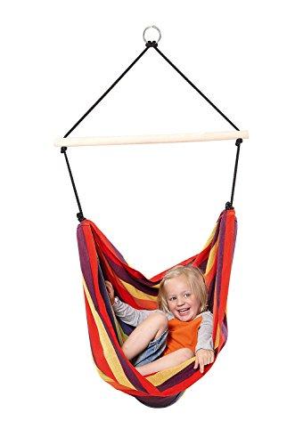 AMAZONAS Kinder Hängesessel Kid's Relax rainbow 155 cm x 120 cm bis 80 KG in Regenbogenfarben