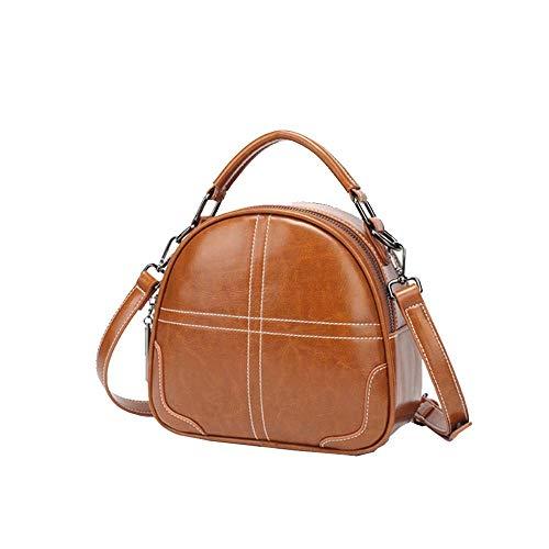 HIZLJJ Frauen Geldbörsen und Handtasche Umhängetasche für Frauen PU Leder Damen Umhängetasche Fashion Large Capacity Bags (Farbe : Schwarz) -
