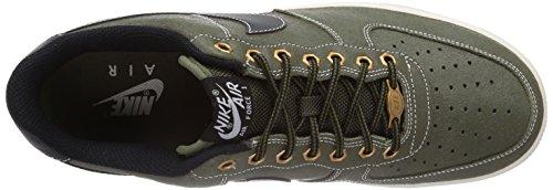 Nike Air Force 1 Herren Sneakers Grau (MDM OLIVE/BLCK-SL-GM LGHT BRWN)