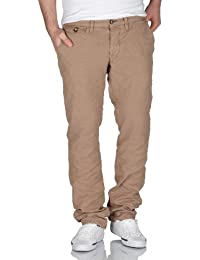 Selected Homme Herren Chinos Three Ray light camel pants