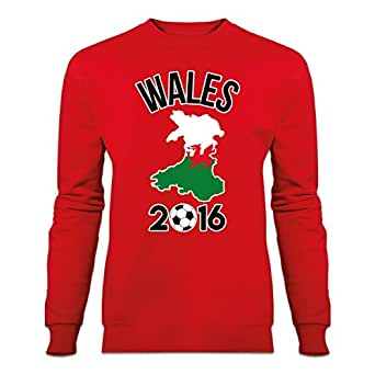 Wales 2016 Fan Sweatshirt by Shirtcity