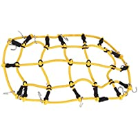 Equipaje Equipaje Net Modelos para RC Off-Road Crawler Car Axial High Simulation Portable Mini Elastic Strenched Parcel Net